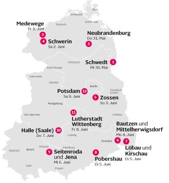 Tourkarte 2012